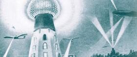 El otro mundo con las antenas de carga inalámbrica de Tesla